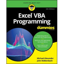 Excel VBA Programming For Dummies by Michael Alexander, 9781119518174