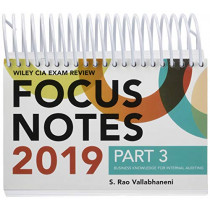 Wiley CIA Exam Review 2019 Focus Notes, Part 3: Business Knowledge for Internal Auditing (Wiley CIA Exam Review Series) by S. Rao Vallabhaneni, 9781119524502