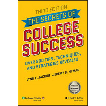 The Secrets of College Success by Lynn F. Jacobs, 9781119561804