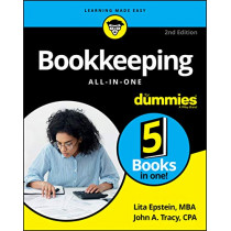 Bookkeeping All-in-One For Dummies by Lita Epstein, 9781119592907
