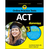 ACT For Dummies, with Online Practice by Lisa Zimmer Hatch, 9781119612643