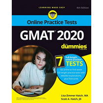 GMAT For Dummies 2020: Book + 7 Practice Tests Online + Flashcards by Lisa Zimmer Hatch, 9781119617945
