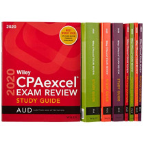 Wiley CPAexcel Exam Review 2020 Study Guide + Question Pack: Complete Set by Wiley, 9781119647522
