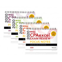 Wiley CPAexcel Exam Review 2020 Focus Notes: Complete Set by Wiley, 9781119647614