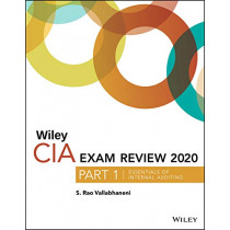 Wiley CIA Exam Review 2020, Part 1: Essentials of Internal Auditing by S. Rao Vallabhaneni, 9781119666875