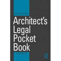 Architect's Legal Pocket Book by Matthew Cousins, 9781138506695