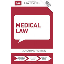 Q&A Medical Law by Jonathan Herring, 9781138831018