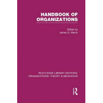Handbook of Organizations by James G. March, 9781138975750