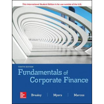 ISE Fundamentals of Corporate Finance by Richard Brealey, 9781260566093