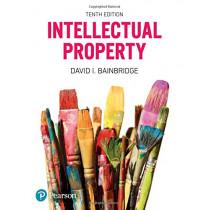 Intellectual Property by David Bainbridge, 9781292002644