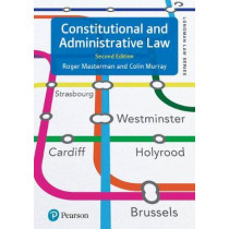 Constitutional and Administrative Law by Roger Masterman, 9781292144252