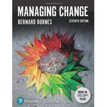 Managing Change by Bernard Burnes, 9781292156040