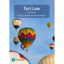 Tort Law by Nicholas J McBride, 9781292207834