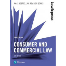 Law Express: Consumer and Commercial Law, 5th edition by Judith Tillson, 9781292210117