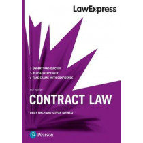 Law Express: Contract Law, 6th edition by Emily Finch, 9781292210124