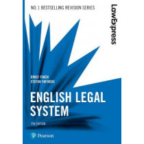 Law Express: English Legal System, 7th edition by Emily Finch, 9781292210155
