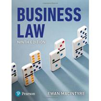 Business Law, 9th edition by Ewan MacIntyre, 9781292219950