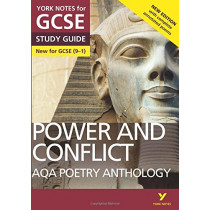 AQA Poetry Anthology - Power and Conflict: York Notes for GCSE (9-1): Second edition by Beth Kemp, 9781292230313