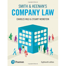 Smith & Keenan's Company Law, 18th edition by Charles Wild, 9781292246062