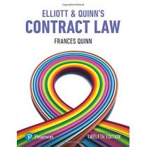Elliott & Quinn's Contract Law by Catherine Elliott, 9781292251400