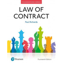 Law of Contract by Paul Richards, 9781292251486