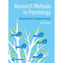 Research Methods in Psychology by Dennis Howitt, 9781292276700