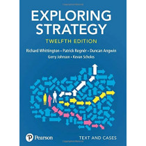 Exploring Strategy, Text and Cases by Richard Whittington, 9781292282459