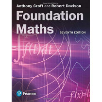 Foundation Maths by Anthony Croft, 9781292289687