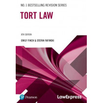 Law Express: Tort Law by Emily Finch, 9781292295497