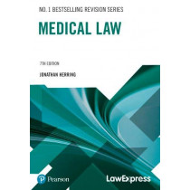 Law Express: Medical Law by Jonathan Herring, 9781292295541