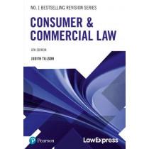 Consumer & Commercial Law by Judith Tillson, 9781292295770