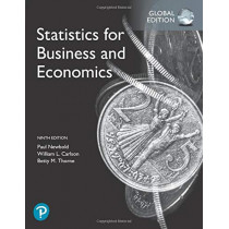 Statistics for Business and Economics, Global Edition by Paul Newbold, 9781292315034
