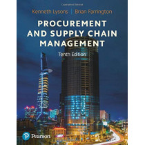Procurement and Supply Chain Management by Kenneth Lysons, 9781292317915