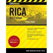 Cliffsnotes RICA by ,Beth Andersen-Perak, 9781328635211
