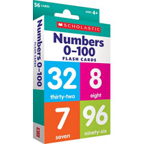 Flash Cards: Numbers 0 - 100 by Scholastic Teacher Resources, 9781338233551