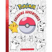 Pokemon Coloring Adventures by Scholastic, 9781338688405