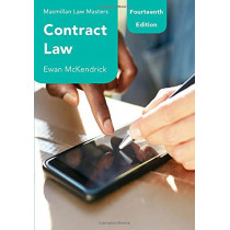 Contract Law by Ewan McKendrick, 9781352012064