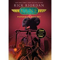 The Kane Chronicles, Paperback Box Set (with Graphic Novel Sampler) by Rick Riordan, 9781368013611