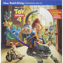 Toy Story 4 Read-Along Storybook and CD by Disney Book Group, 9781368042819