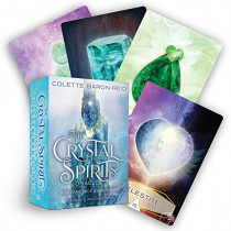 The Crystal Spirits Oracle: A 58-Card Deck and Guidebook by Colette Baron-Reid, 9781401952808