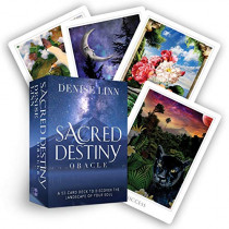 Sacred Destiny Oracle: A 52-Card Deck to Discover the Landscape of Your Soul by Denise Linn, 9781401956257