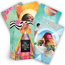 The Muse Tarot: A 78-Card Deck and Guidebook by Chris-Anne, 9781401958329