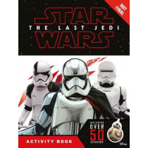 Star Wars The Last Jedi Activity Book with Stickers by Lucasfilm Ltd, 9781405286794