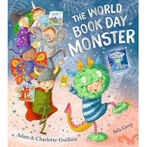 The World Book Day Monster by Adam Guillain, 9781405291859