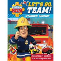 Fireman Sam: Let's Go, Team! Sticker Scenes by Egmont Publishing UK, 9781405292993