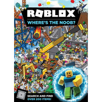 Roblox Where's the Noob? Search and Find Book by Egmont Publishing UK, 9781405294638