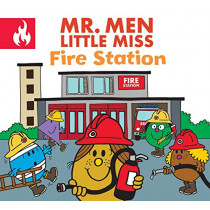 Mr. Men Little Miss Fire Station by Adam Hargreaves, 9781405296175