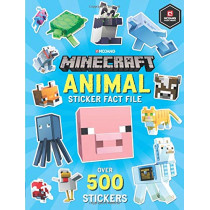 Minecraft Animal Sticker Fact File by Minecraft, 9781405296281