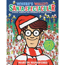 Where's Wally? Santa Spectacular by Martin Handford, 9781406378634