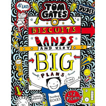 Tom Gates: Biscuits, Bands and Very Big Plans by Liz Pichon, 9781407189307
